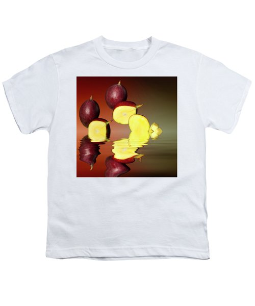 Fresh Ripe Mango Fruits Youth T-Shirt by David French