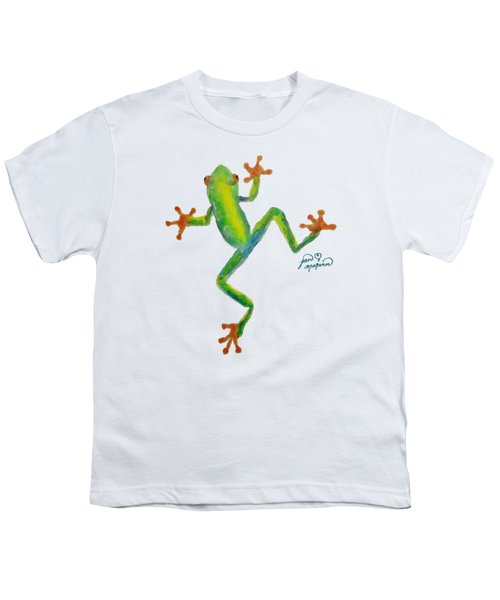Red Eyed Tree Frog By Jan Marvin Youth T-Shirt by Jan Marvin