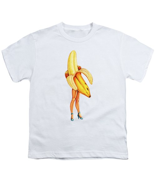 Fruit Stand - Banana Youth T-Shirt by Kelly Gilleran
