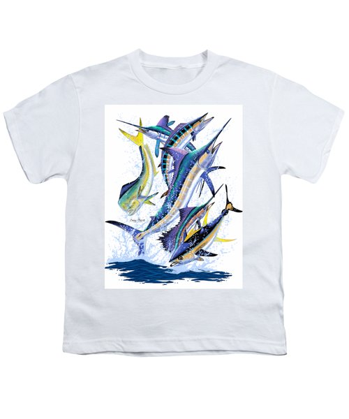 Gamefish Digital Youth T-Shirt by Carey Chen