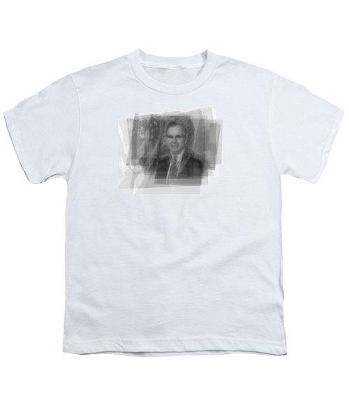 George H. W. Bush Youth T-Shirt by Steve Socha