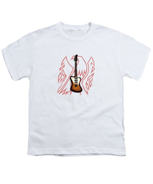 Gibson Firebird 1965 Youth T-Shirt by Mark Rogan