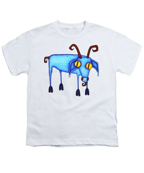 Goat Youth T-Shirt by Joan Krygsman