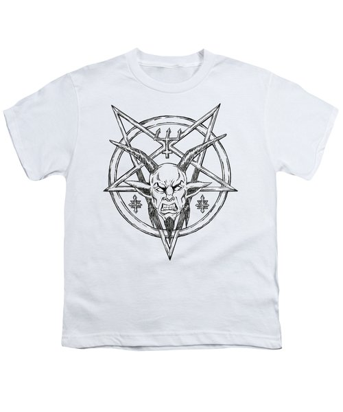 Goatlord Logo Youth T-Shirt by Alaric Barca