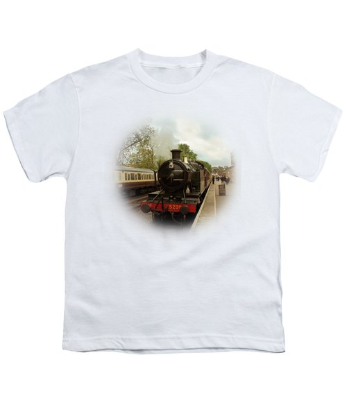 Goliath The Engine And Anna On Transparent Background Youth T-Shirt by Terri Waters