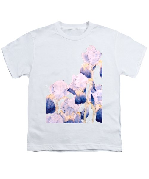 Graceful Iris Youth T-Shirt by Gail Maguire