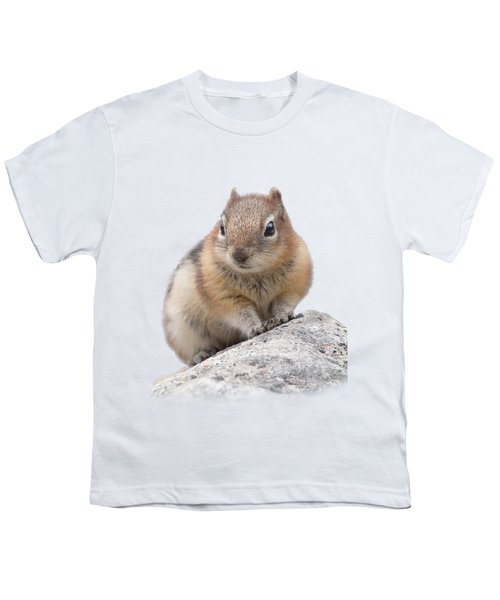 Ground Squirrel T-shirt Youth T-Shirt by Tony Mills