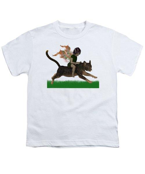 Having Fun Youth T-Shirt by Nancy Pauling