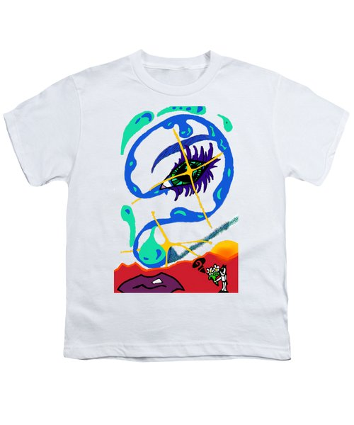 iseeU Youth T-Shirt by Flyn Phoenix