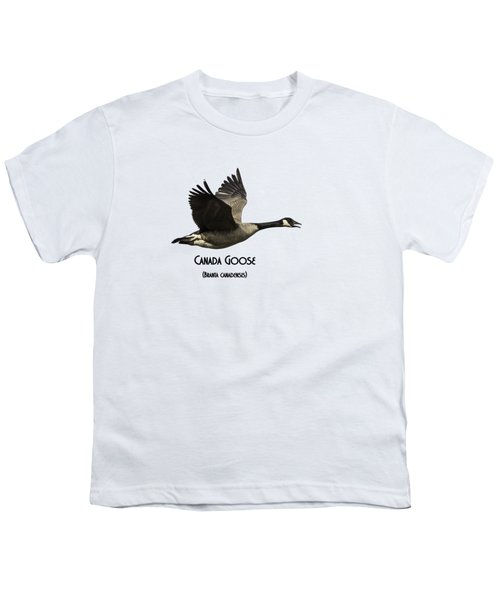 Isolated Canada Goose 2015-1 Youth T-Shirt by Thomas Young