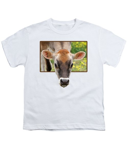 Jersey Fields Of Gold Youth T-Shirt by Gill Billington
