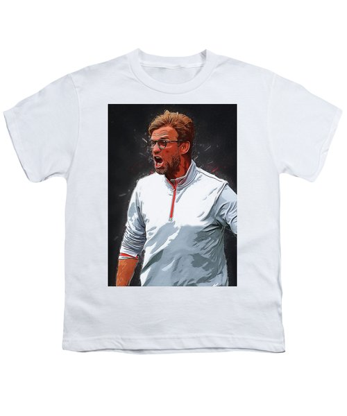Jurgen Kloop Youth T-Shirt by Semih Yurdabak