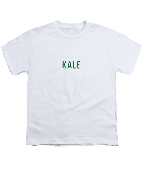 Kale Youth T-Shirt by Cortney Herron
