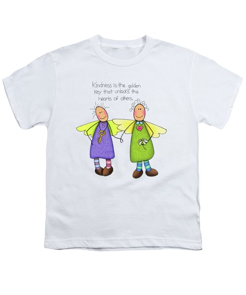 Kindness Youth T-Shirt by Sarah Batalka