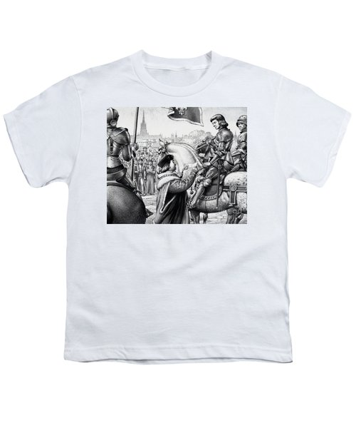 King Henry Vii Youth T-Shirt by Pat Nicolle