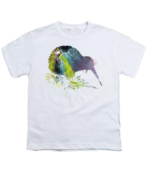 Kiwi Bird Youth T-Shirt by Mordax Furittus