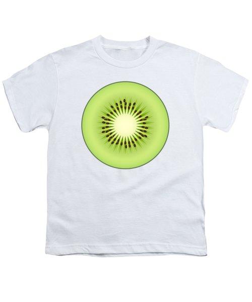Kiwi Fruit Youth T-Shirt by Miroslav Nemecek