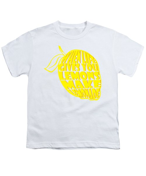 Lemonade Youth T-Shirt by Priscilla Wolfe