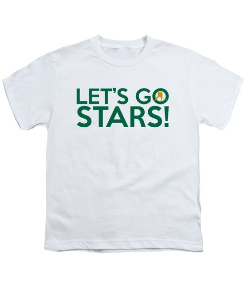 Let's Go Stars Youth T-Shirt by Florian Rodarte