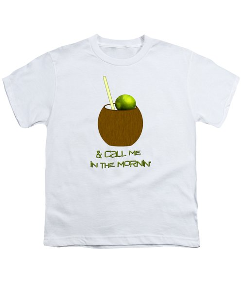 Lime In The Coconut Youth T-Shirt by Methune Hively