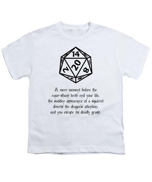 Lucky Escape Youth T-Shirt by Jon Munson II
