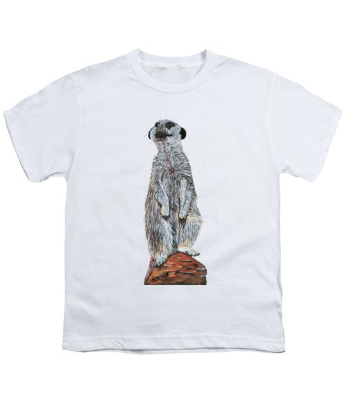 Meer Curiosity Custom Youth T-Shirt by Lee Wolf Winter