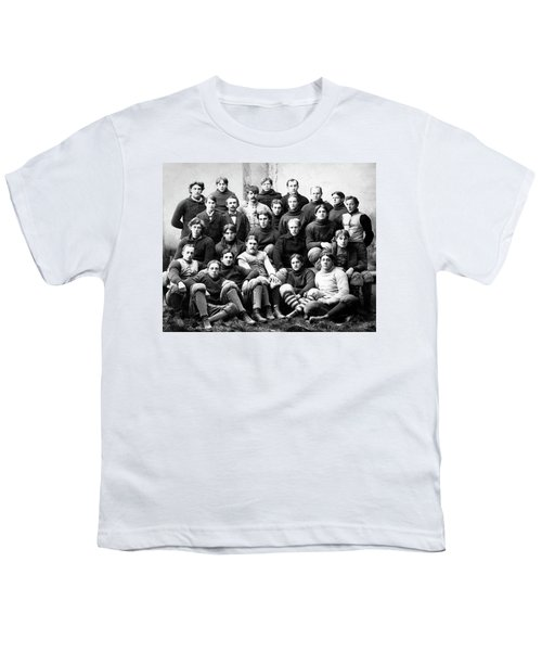 Michigan Wolverines Football Heritage  1895 Youth T-Shirt by Daniel Hagerman