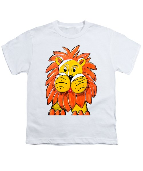 Mr. Lion Youth T-Shirt by Tami Dalton