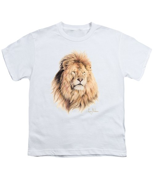 Mufasa Youth T-Shirt by Lucie Bilodeau