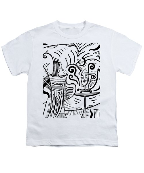 Mystical Powers Youth T-Shirt by Sotuland Art