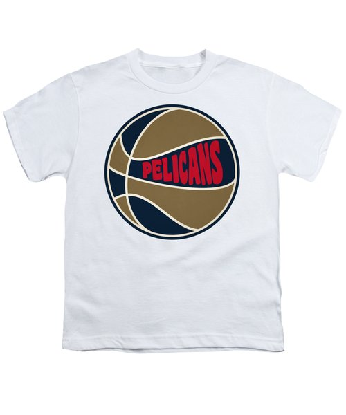 New Orleans Pelicans Retro Shirt Youth T-Shirt by Joe Hamilton