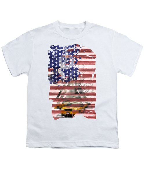 New York City Geometric Mix No. 8 Youth T-Shirt by Melanie Viola