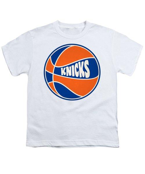 New York Knicks Retro Shirt Youth T-Shirt by Joe Hamilton
