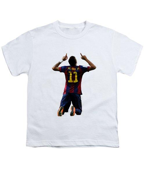 Neymar Youth T-Shirt by Armaan Sandhu