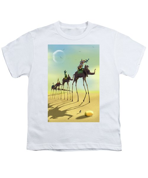 On The Move 2 Youth T-Shirt by Mike McGlothlen