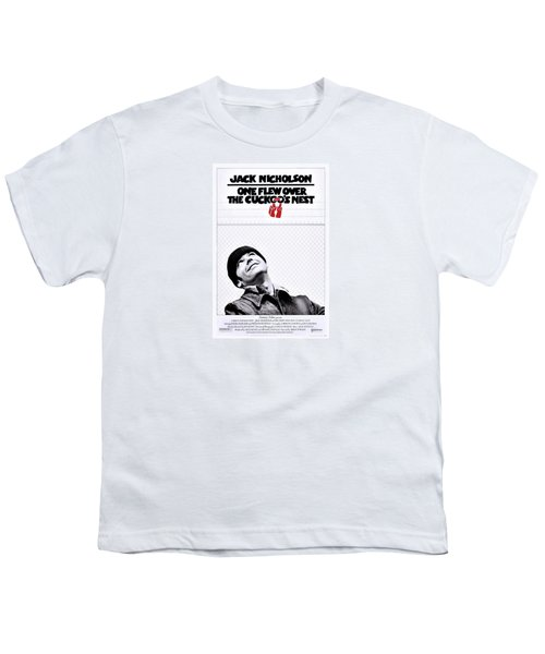 One Flew Over The Cuckoo's Nest Youth T-Shirt by Movie Poster Prints