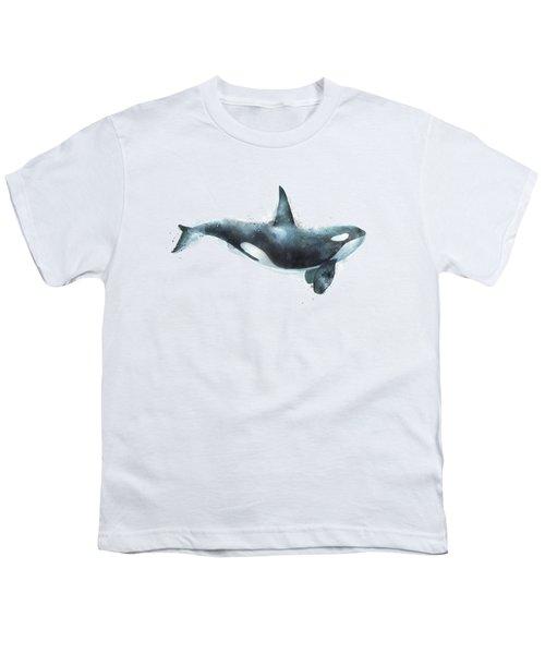 Orca Youth T-Shirt by Amy Hamilton