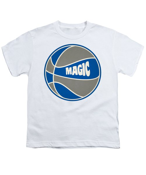 Orlando Magic Retro Shirt Youth T-Shirt by Joe Hamilton