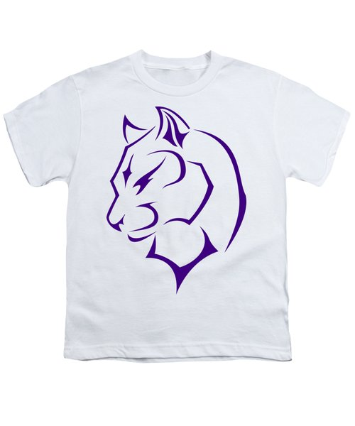 Panther Youth T-Shirt by Frederick Holiday