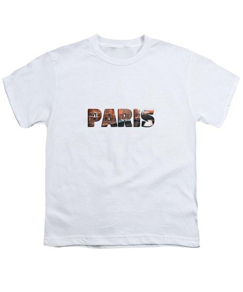 Paris In Fall Youth T-Shirt by Konstantin Sevostyanov