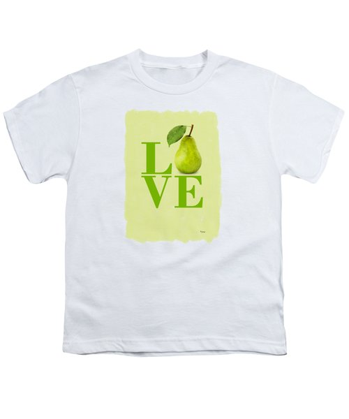 Pear Youth T-Shirt by Mark Rogan