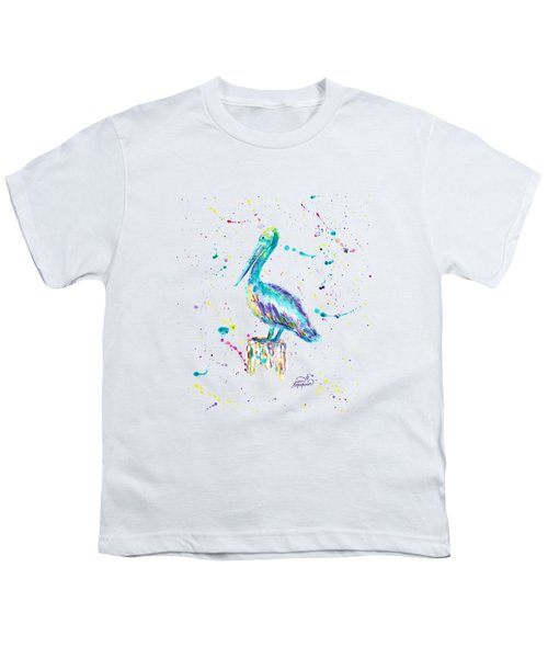 Pelican By Jan Marvin Youth T-Shirt by Jan Marvin
