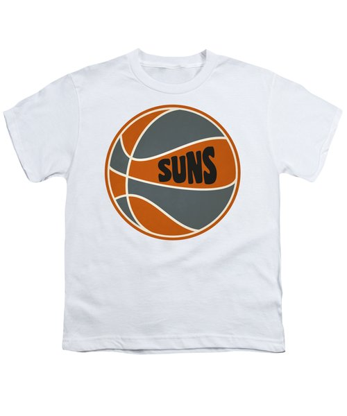 Phoenix Suns Retro Shirt Youth T-Shirt by Joe Hamilton