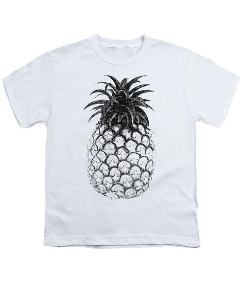 Pineapple Youth T-Shirt by Birgitta