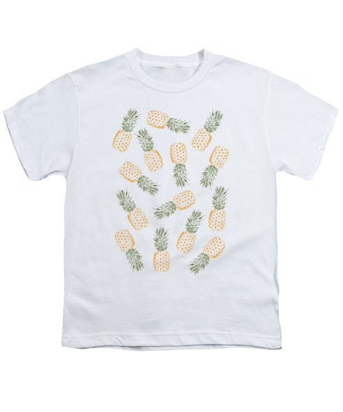 Pineapples Youth T-Shirt by Rui Faria