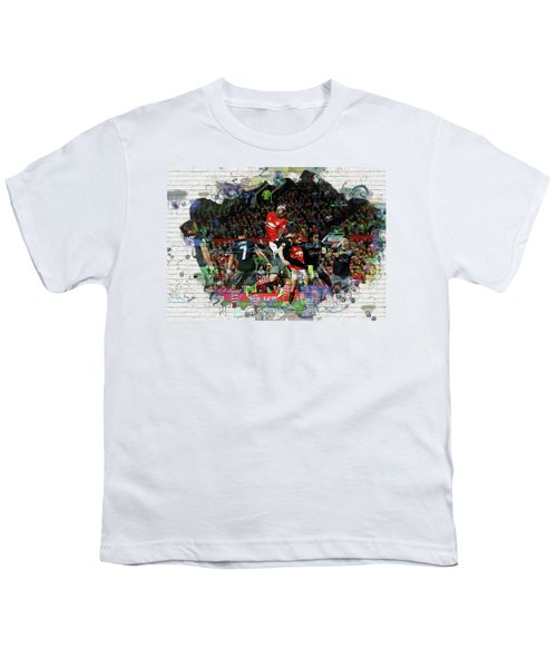Pogba Street Art Youth T-Shirt by Don Kuing