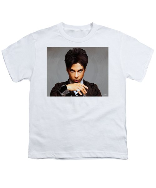 Prince Youth T-Shirt by Paul Tagliamonte