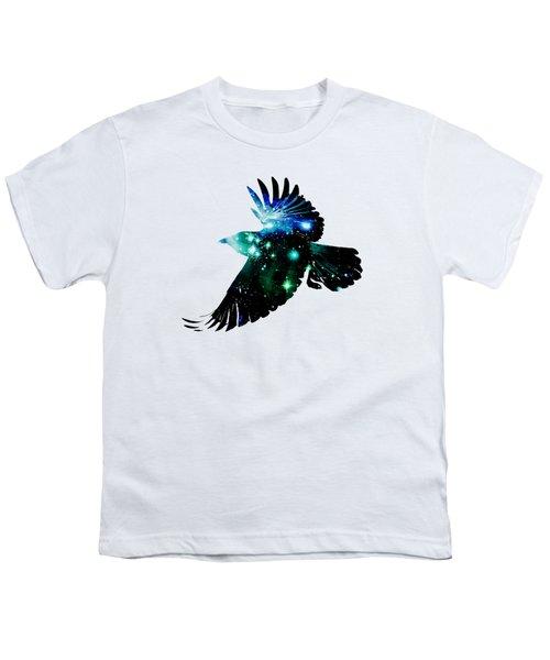 Raven Youth T-Shirt by Anastasiya Malakhova