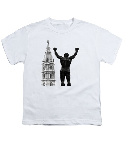 Rocky - Philly's Champ Youth T-Shirt by Bill Cannon