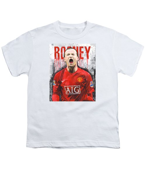 Rooney Youth T-Shirt by Jeff Gomez